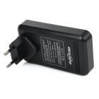 US Plugss Battery Charger / Charging Dock Station w/ USB Port & EU Plug Adapter for LG BL-53YH - Black