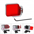 Fat Cat F-DR4 Professional Underwater Diving Color-Correction Filter for GoPro Hero 4 / 3+ - Red