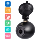 HD 1080P Wide Angle Wireless Car DVR Camcorder Wi-Fi Mini Recorder w/ Remote Capture Wireless Button