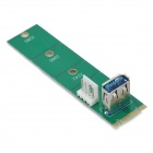 M.2 NGFF a USB 3.0 Adapter Card - Green