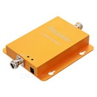 Mini CDMA 824~894MHz Cell Phone Signal Amplifier - Yellow (US Plugs)