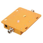 Mini CDMA 824~894MHz Cell Phone Signal Amplifier - Yellow (US Plug)