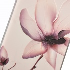 Carcasa de flores para IPHONE 6 / 6S - Blanco Marrón