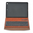 v3.0 Bluetooth clavier 64 touches w / Case Ultra-Slim PU pour l'IPAD AIR 2 - Brown