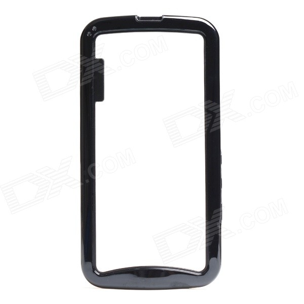Protective TPU + PC Bumper Frame for Moto G2 - Black