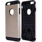 "Slim Armor Style Protective PC + Silicone Back Case for IPHONE 6 Plus 5.5"" - Golden"
