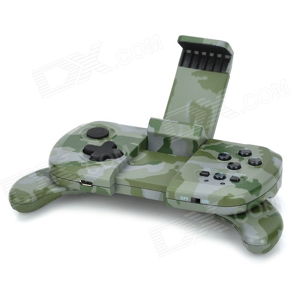 GP 1006 Wireless Bluetooth v4.0 Gamepad Controller for iOS / Android Phone - Camouflage