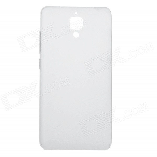 Protective TPU Back Case Cover for Xiaomi MI4 - Translucent White