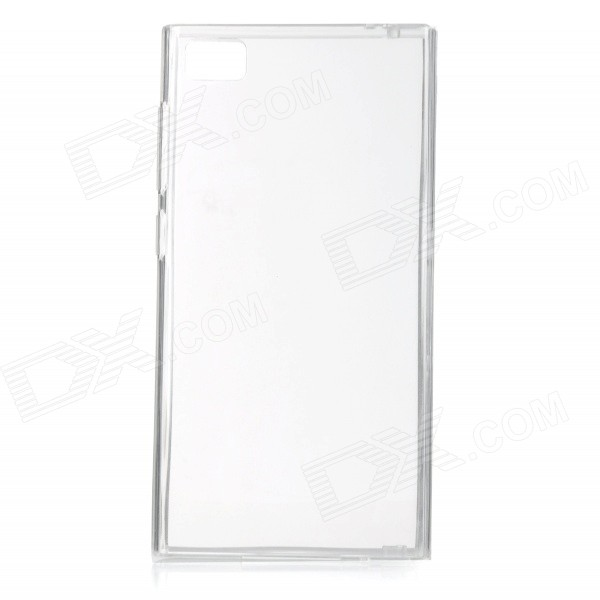 Protective TPU Back Case for Xiaomi Mi3 - Translucent White protective silicone case for nds lite translucent white