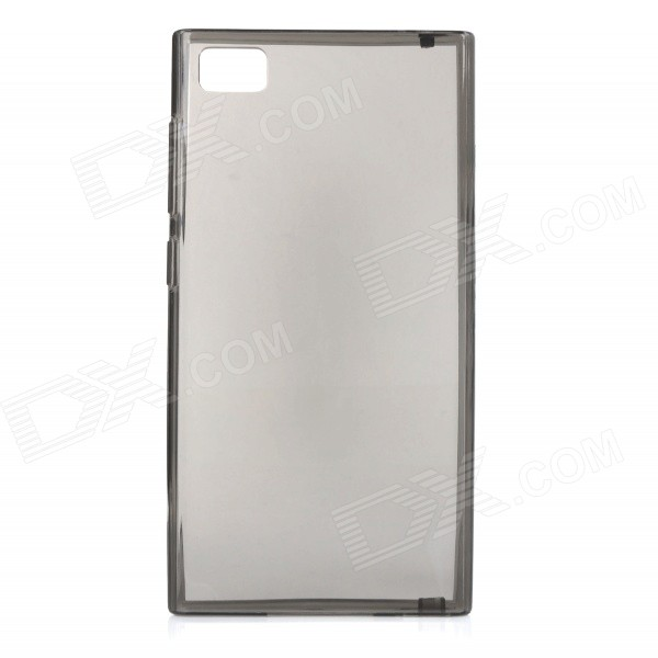 Protective TPU Back Case for Xiaomi Mi3 - Translucent Black гарнитура shure se215 k translucent black