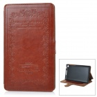 Retro Style Protective PU Leather Case w/ Stand for Google Nexus 7 Second - Brown