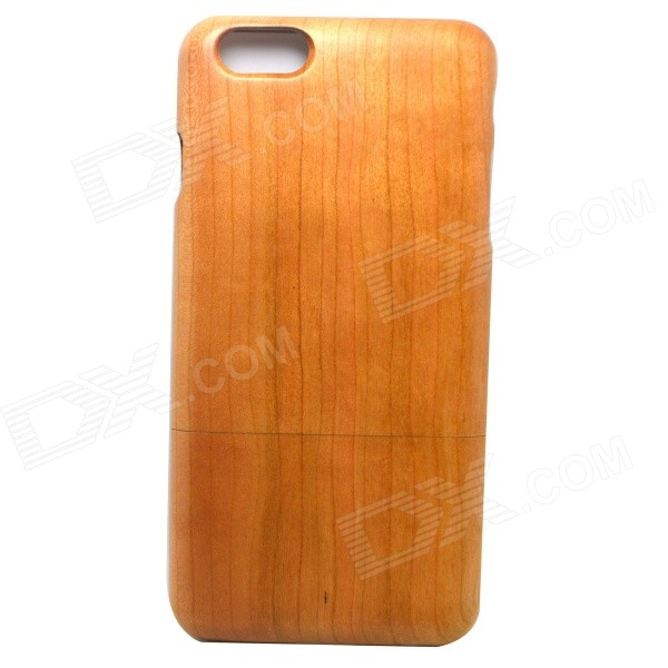 Retro Protective Cherry Wooden Back Case for IPHONE 6 PLUS - Wood