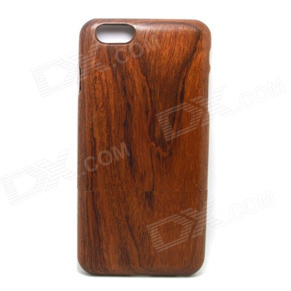 Retro Protective Sapele Wood Back Case for IPHONE 6 PLUS - Brownish Red