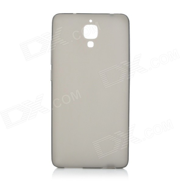 Protective TPU Back Case Cover for Xiaomi Mi 4 - Translucent Black