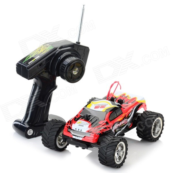 8808A 1:20 Scale 3-CH 27MHz High Speed R/C Offroad Car - White + Red + Multi-Color nansheng 8807g 1 12 scale 3 ch 2 4ghz high speed r c cross country car silver black
