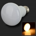 E27 9W 650lm 3200K 45-SMD 2835 LED Warm White Light Bulb - Weiß (AC 100 ~ 240V)