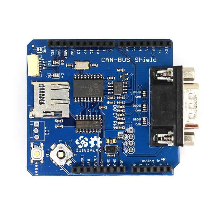 CAN BUS Shield Expansion Board for Arduino - Blue