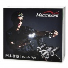 MagicShine SSC-P7 + 2*XP-E 16W 3-Mode 1400-Lumen LED Bike Light Set (4*18650 included)