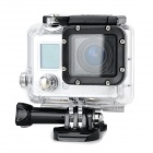 "F42 Waterproof Sports 0.7"" LCD CMOS 5MP / 12MP Wi-Fi HD Camera / Camcorder - Silvery White + Black"