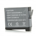 AHDBT-401 Replacement 3.8V 1160mAh Li-ion Battery for Digital Camera GoPro Hero 4 - Black + Grey