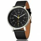 Genuine Bergmann 1961 Men's Classic Analog Quartz Watch - Black