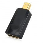 Mini DisplayPort Male to HDMI Female Adapter - Black