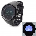 GD-004 Outdoor Sport Multi-Function Rubber Band Digital  Heart Rate Monitor Watch w/ GPS / Pedometer