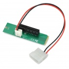 M.2 NGFF to PCI-E X4 Adapter Card  - Green + Black