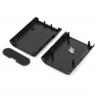 Protective ABS Shell Case Box for Raspberry Pi B+ - Black