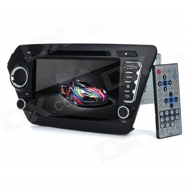 KD-8044 8 Android Dual-Core 3G Car DVD Player w/ 1GB RAM / 8GB Flash / GPS / Wi-Fi for KIA K2 / RIO планшет prestigio multipad grace 3118 pmt31183gccis black mediatek mt8321 1 2 ghz 1024mb 8gb wi fi bluetooth cam 8 0 1280x800 android