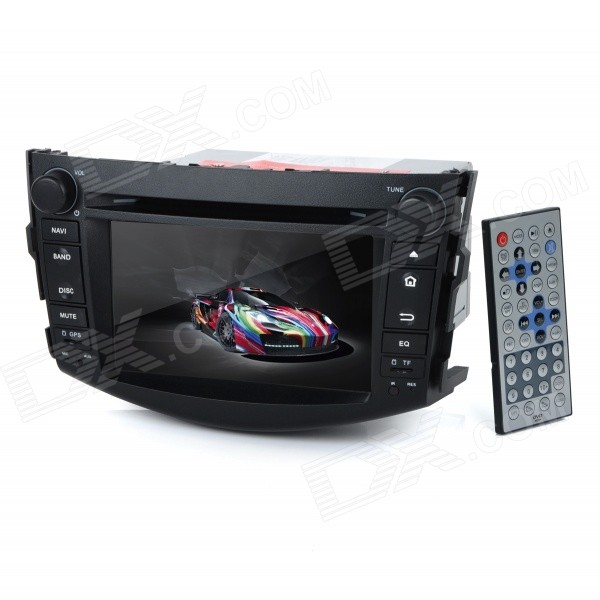 KD-7015 7 Android Dual-Core 3G Car DVD Player w/ 1GB RAM / 8GB Flash / GPS / Wi-Fi for Toyota RAV4 автомобильный dvd плеер joyous kd 7 800 480 2 din 4 4 gps navi toyota rav4 4 4 dvd dual core rds wifi 3g