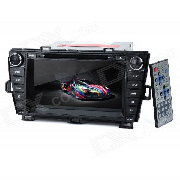 KD-8004L 8 Android Dual-Core 3G Car DVD Player w/ 1GB RAM / 8GB Flash / GPS / Wi-Fi for PRIUS планшет prestigio multipad grace 3118 pmt31183gccis black mediatek mt8321 1 2 ghz 1024mb 8gb wi fi bluetooth cam 8 0 1280x800 android
