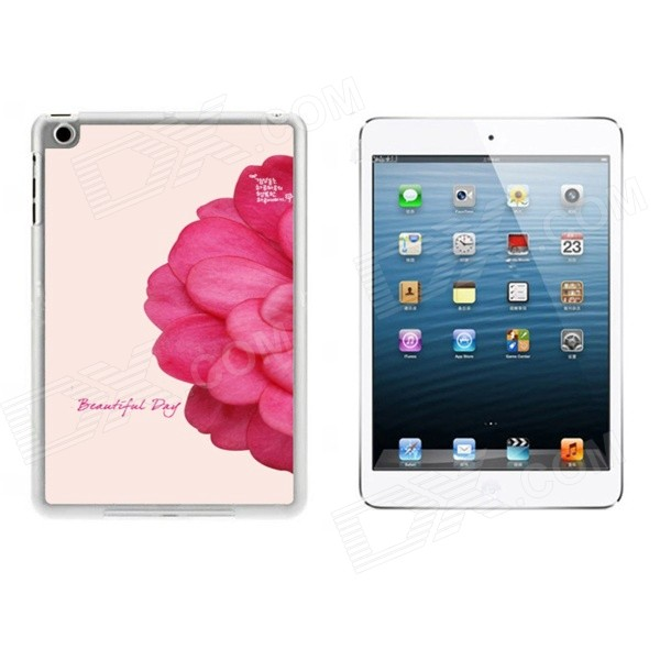 Flower Pattern Ultra-Slim Protective Plastic Back Case for IPAD MINI 1 / 2 / 3