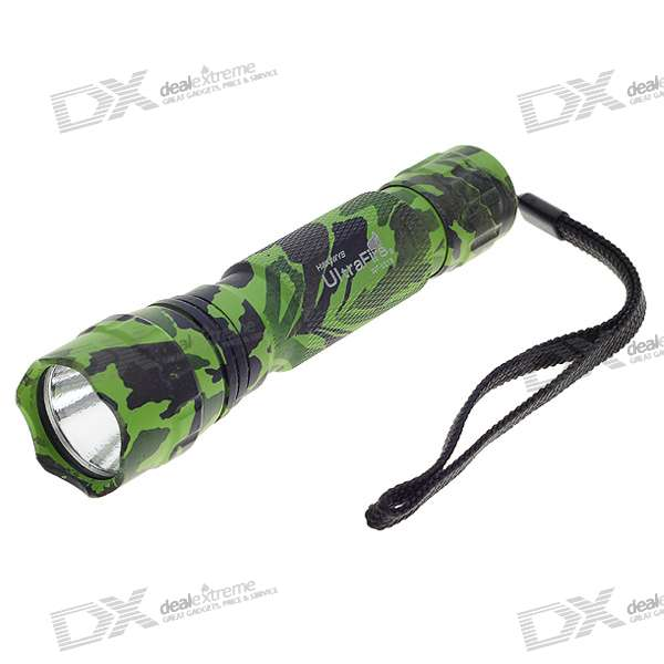 UltraFire WF-501B XPG-WD Q5 320-Lumen LED Flashlight (1 * 18650/2 * 16340)