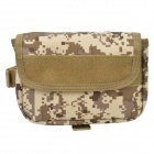 D28 600D Nylon Water-resistant Bike Bicycle Saddle Bag - Camouflage
