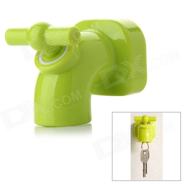 Mini Cute Faucet Style Magnet Key Holder - Green cloud style magnetic key holder white