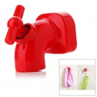 Mini Cute Faucet Magnet Key Holder Hanging Hook - Red