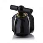 Mini Cute Faucet Style Magnet Key Holder Hanging Hook - Black