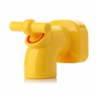 Mini Cute Faucet Style Magnet Key Holder Hanging Hook - Yellow