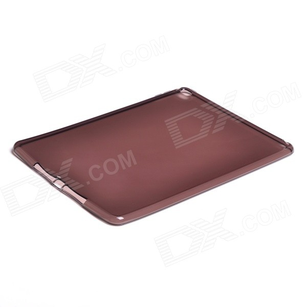 Protective TPU Back Cover Case for IPAD AIR 2 - Translucent Brown бинокль levenhuk левенгук atom 7x35