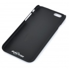 High-Quality Protective PC + Aluminum Alloy Back Case for IPHONE 6 - Black