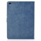Stylish Protective PU + PC Smart Case w/ Stand for IPAD AIR 2 - Blue