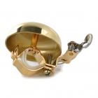 GB-03 Retro Mini Brass + Stainless Steel Bike Bicycle Bell - Gold
