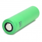 "3.7V ""2600mAh"" recarregável 18650 Li-ion Battery - Green"