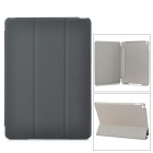 Protective Ultra-Slim Smooth Smart PU Case w/ PC Back, Stand for IPAD AIR 2 - Black