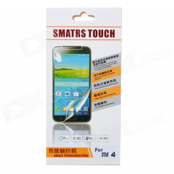 YO-54 Protective Tempered Glass Smart Screen Guard for Xiaomi Mi 4 - Transparent touchscreen for v808ich v808ch v808isd v808sd touch screen panel glass new and original 30days warranty in stock
