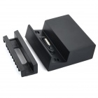 Mini Magnetic Charging Dock w/ 3 Slots for Sony Xperia Z3 - Black