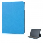Protective Flip-Open PU Fall w / Card Slot / Ständer für IPAD AIR 2 - Sky Blue