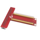 DIY GPIO Expansion Board Accessory for Raspberry Pi B+ - Red
