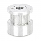 3D Printer 20-Teeth Timing Belt Pulley for S2M / 2GT - Silver